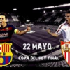 Y el domingo 22, la Final de Copa